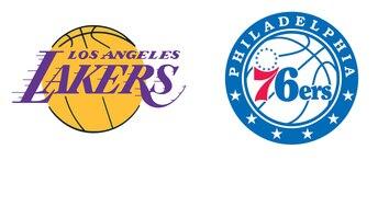 LA Lakers @ Philadelphia
