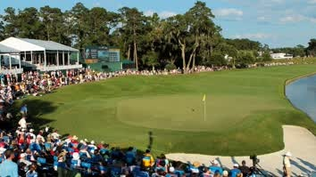 Travelers Championship: day two