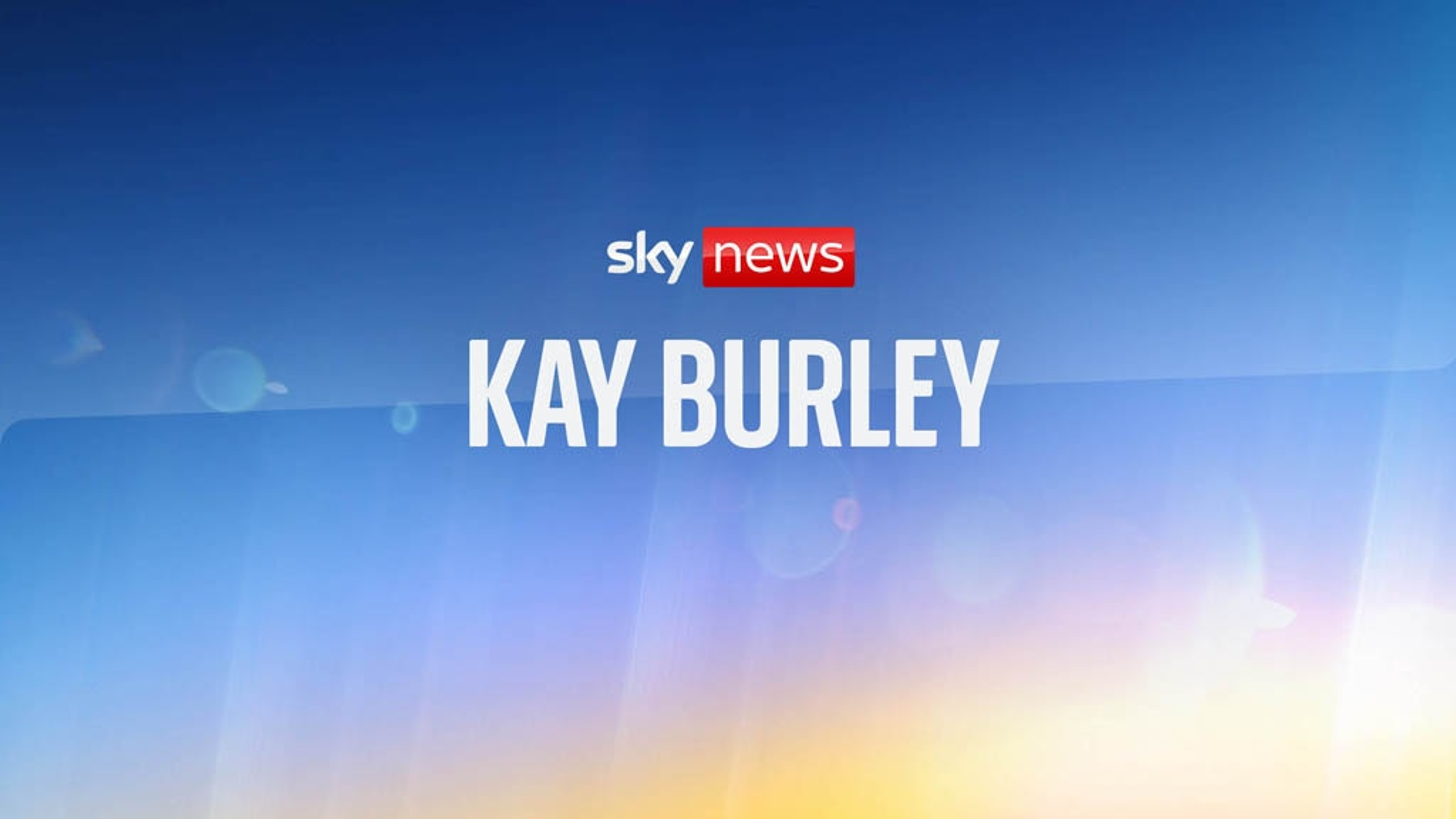 Kay Burley | Sky.com