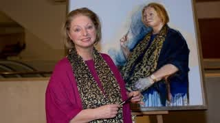 Portrait Artist of the Year 2013 - Painting Hilary Mantel