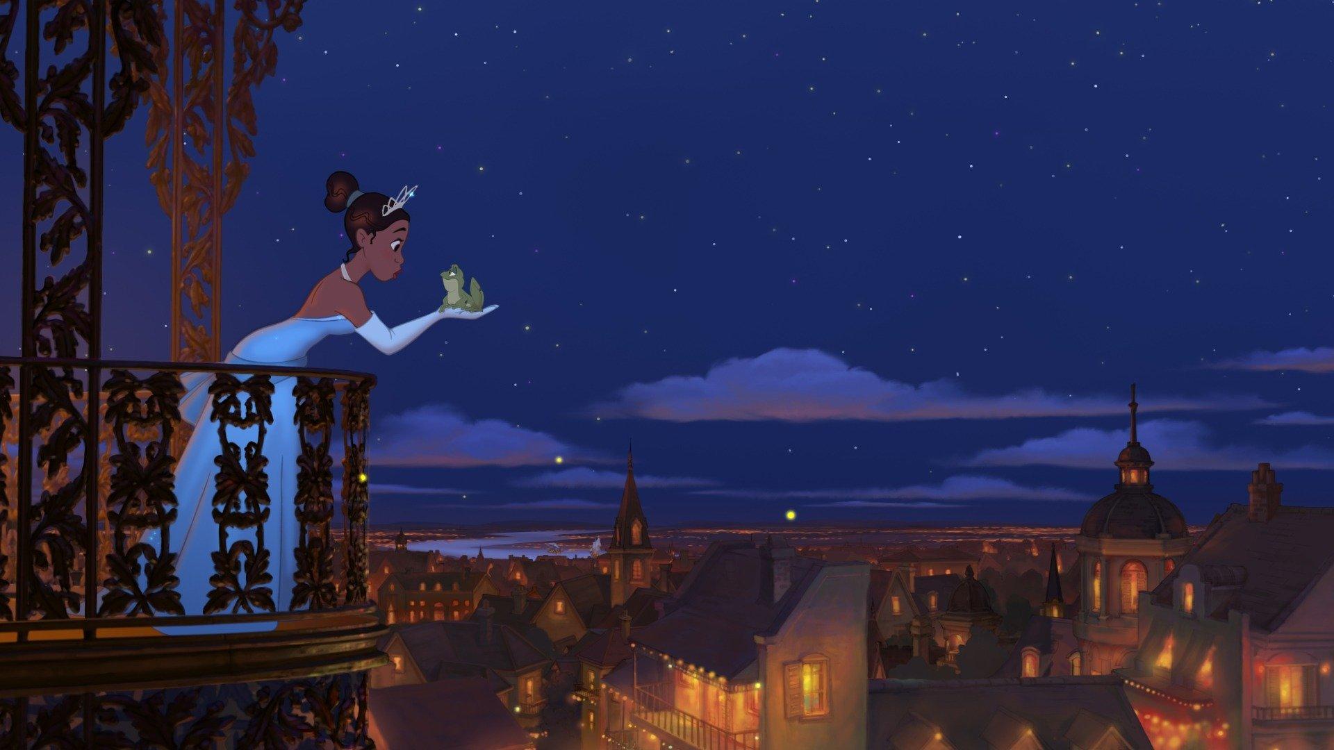 The Princess And The Frog Sky Com