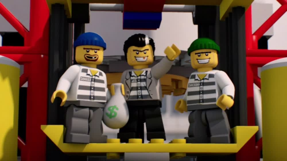 Lego City Shorts Season 1 Episode 2 Skycom