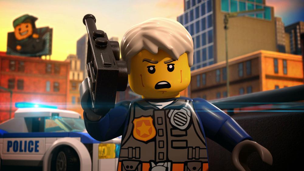 Lego City Shorts Season 8 Episode 11 Skycom